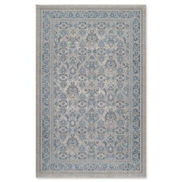Momeni Kerman Persian-Inspired Antique 9'3 x 12'6 Area Rug in Taupe