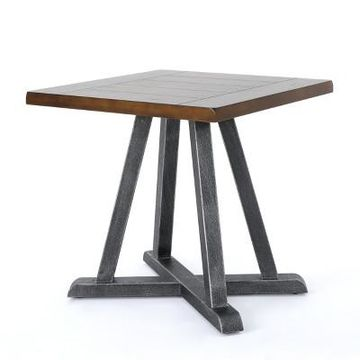 Orpheus Industrial End Table - Christopher Knight Home