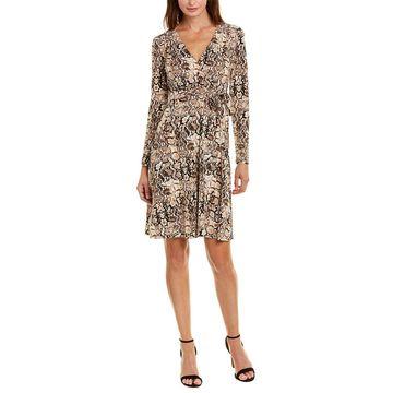 Donna Morgan Womens Wrap Dress