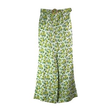 Zimmermann Green Linen Trousers