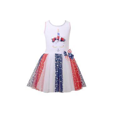 Bonnie Jean Girls Sleeveless Tutu Dress - Preschool / Big Kid