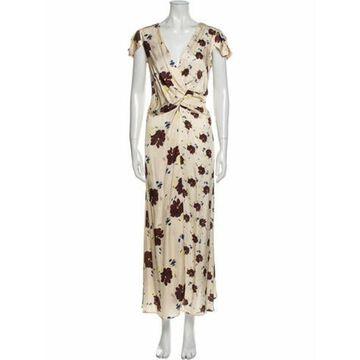 Alysi Floral Print Long Dress w/ Tags Alysi Floral Print Long Dress w/ Tags