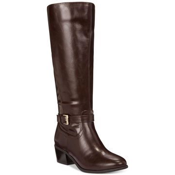 Karen Scott Womens Fayth Closed Toe Knee High Fashion Boots