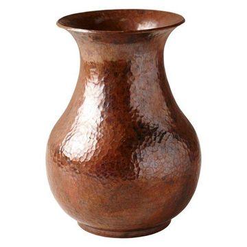 Santa Cruz Copper Vase, Tempered