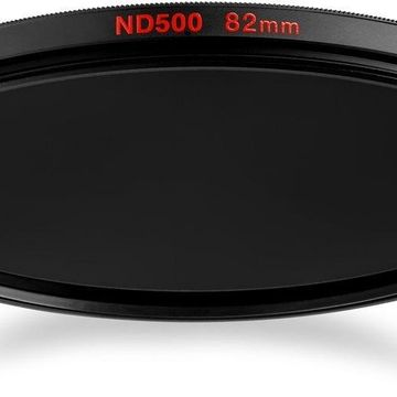 Manfrotto MFND500-52 Circular Lens Filter with 9 Stop of Light Loss 52mm (Grey)