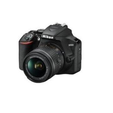 Nikon D3500 - Digital camera - SLR - 24.2 MP - APS-C - 1080p / 60 fps - 3x optical zoom AF-P DX 18-55mm VR lens - Bluetooth