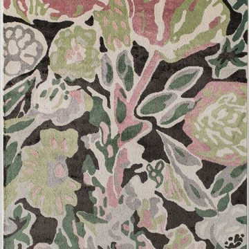 Valentina Transitional Floral Soft Touch Area Rug By Rugs America, Summer Bloom,