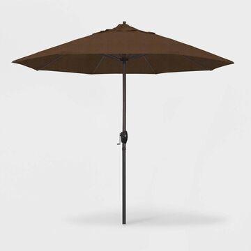 9' Casa Patio Umbrella Auto Tilt Crank Lift - Olefin - California Umbrella