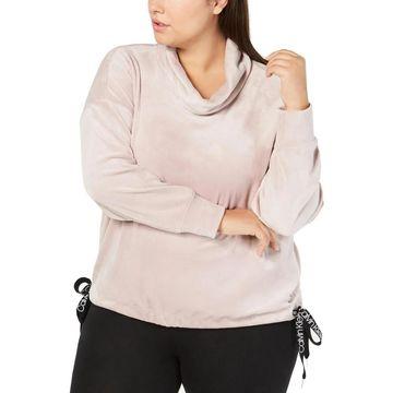 Calvin Klein Performance Womens Sweatshirt Cowlneck Warm