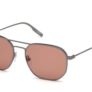 Ermenegildo Zegna EZ0128 09S Men's Sunglasses Grey Size 56