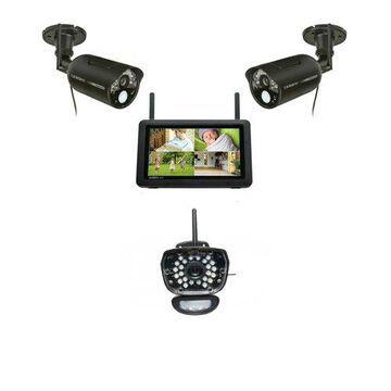 Uniden UDR777HD + UDRC58HD-1 Wireless Security System w/ 7 Inch HD Monitor