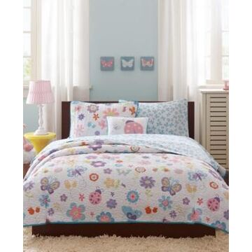 Mi Zone Kids Fluttering Farrah 8-Pc. Full/Queen Coverlet Set Bedding