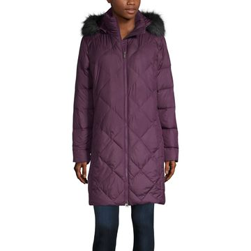 Columbia Icy Heights Quilted Hooded Water Resistant Heavyweight Puffer Jacket
