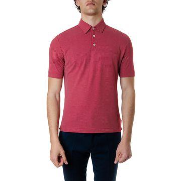 Zanone Coral Cotton Polo Shirt