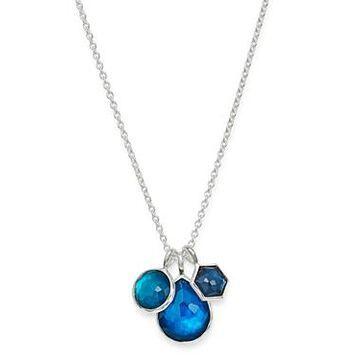 Ippolita Sterling Silver Wonderland Pendant Necklace in Blue Moon, 18
