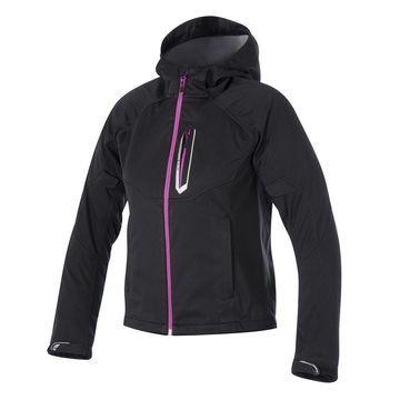 Alpinestars Womens Stella Spark Softshell Jacket - Black/Pink - Medium