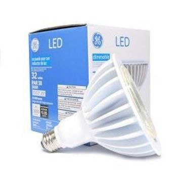 GE Lighting 88801 LED32DP38W830/25 LED Par 38 Lamp, 32W, 3000K, 3000 Lum, 25 De