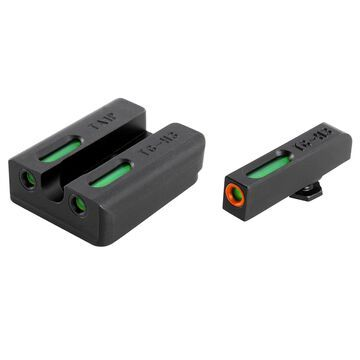 TruGlo TG13WA4PC TruGlo TFX Pro Tritium/Fiber Handgun Sight - Walther PPS/M2