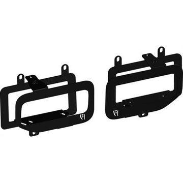 Rigid Industries Dual Fog Light Mounts (Black )