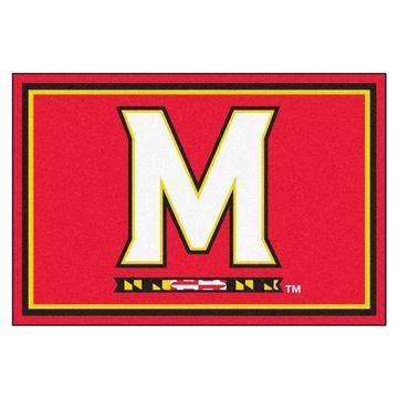 Fanmats NCAA University of Maryland Area Rug - 5' x 8'