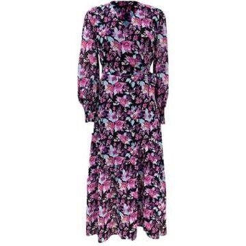 Bar Iii Floral-Print Wrap Maxi Dress, Created for Macy's