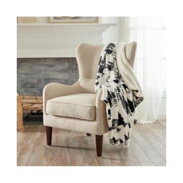 Home Fashions Designs Berber Velvet Plush Luxury Throw Blanket Bedding