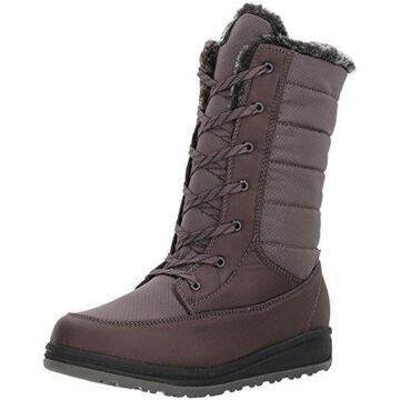 Kamik Women's Bailee Snow Boot, Charcoal, 5 D US