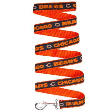Pets First Chicago Bears Leash, Small, Multi-Color