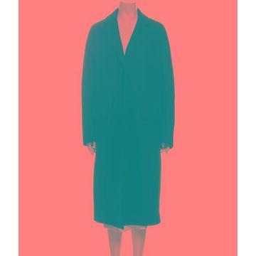 Virgin Wool Coat Wool