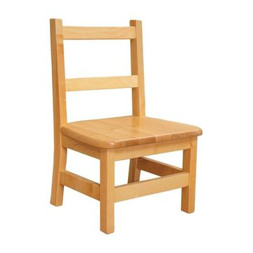 Wood Designs Childrens Chair - Natural - Set of 2