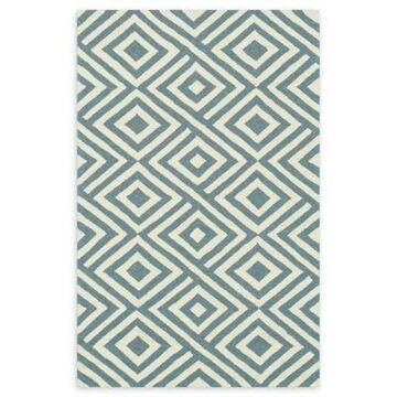 Loloi Rugs Venice Beach 3'6 x 5'6 Indoor/Outdoor Area Rug in Slate/Ivory