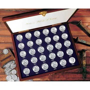 American Coin Treasures 30 Years of US Mint .900 Fine Silver Half Dollars