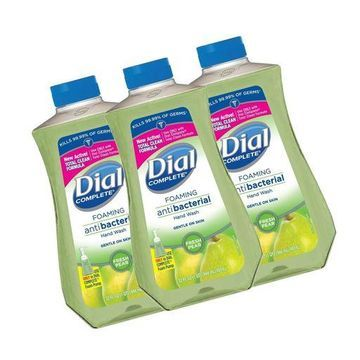 ''Dial Complete Antibacterial Foaming Hand Soap Refill, Fresh Pear, 32 Fluid Ou...''