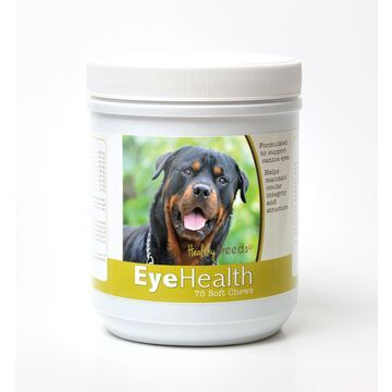 Healthy Breeds 840235145462 Rottweiler Eye Health Soft Chews - 75 Count