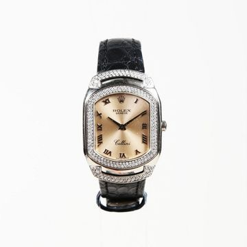 Rolex Cellini Silver White gold Watches
