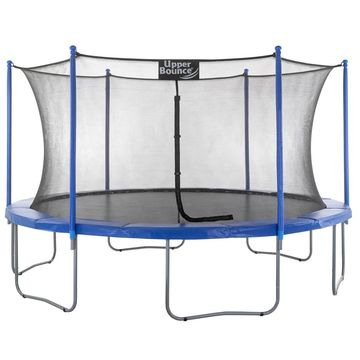 Upper Bounce 15 FT Trampoline and Enclosure Set with Easy Assemble
