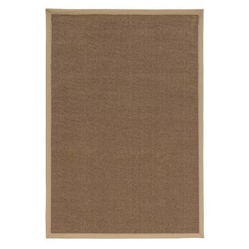 Linon Faux Sisal Rug, Brown, 8X10.5 Ft