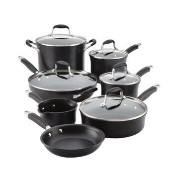 Anolon Advanced Onyx Hard Anodized Nonstick 12-Pc. Cookware Set