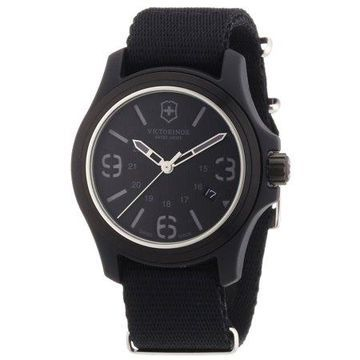 Victorinox Swiss Army Men's Original Black Dial and Strap Watch Watch 241517