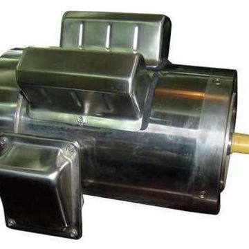 DAYTON 11G248 Washdown Mtr,Cap Strt,TEFC,2 HP,1745 rpm