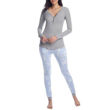 By The Fire Wonderland Knit Pajama Set
