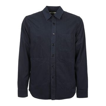 Aspesi Patched Pocket Plain Shirt