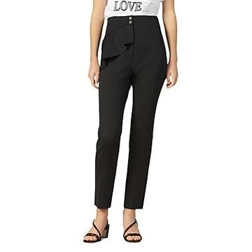 Sandro Jani Tapered Ankle-Length Pants