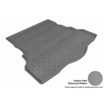 3D MAXpider 2013-2016 Ford Fusion All Weather Cargo Liner in Gray with Carbon Fiber Look