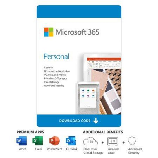 Microsoft 365 Personal | 12-Month S