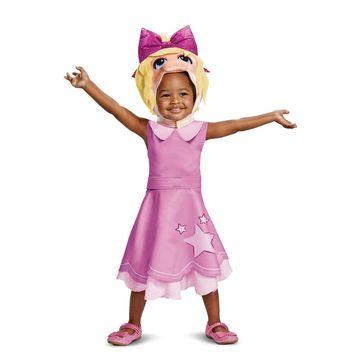 Disguise Miss Piggy Classic Infant/Toddler Costume-Medium (3T-4T)