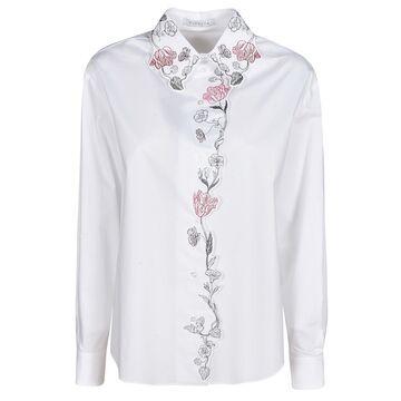 Vivetta Floral Applique Shirt