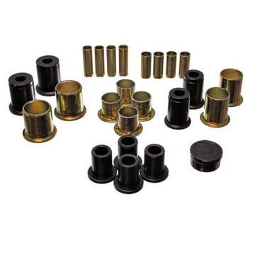 Energy Suspension 91-96 Buick LeSabre / 90-94 Chevy Astro Black Front Lower and Upper Control Arm Bu
