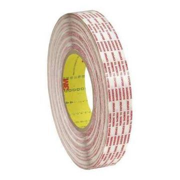3M 476XL Double Sided Extended Liner Tape, 6.0 Mil, 1/2 x 360 yds., Clear, 12/Case