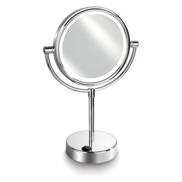 Afina 5x LED Lighted Round Magnifying Mirror